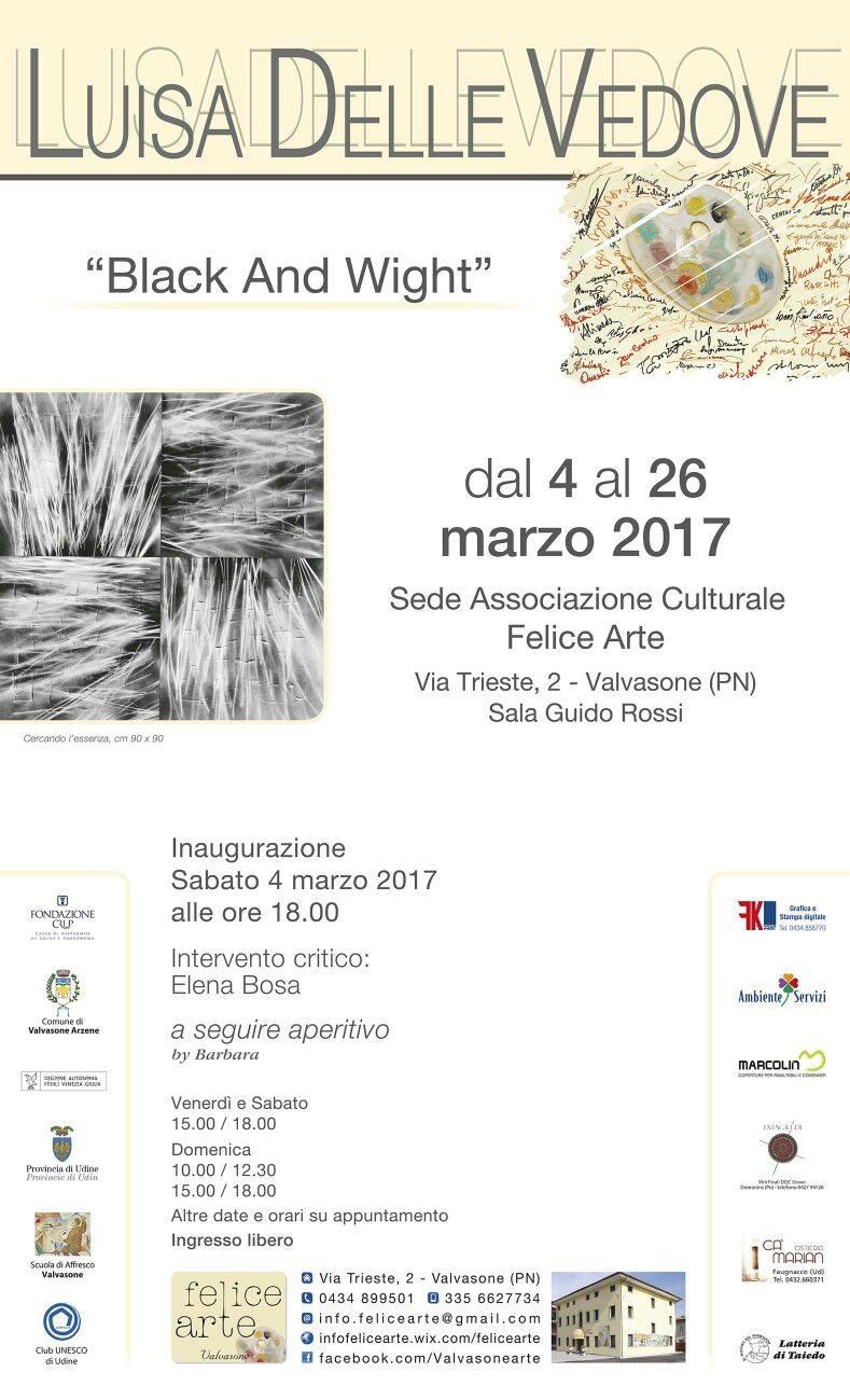 Black And Wight – Luisa Delle Vedove