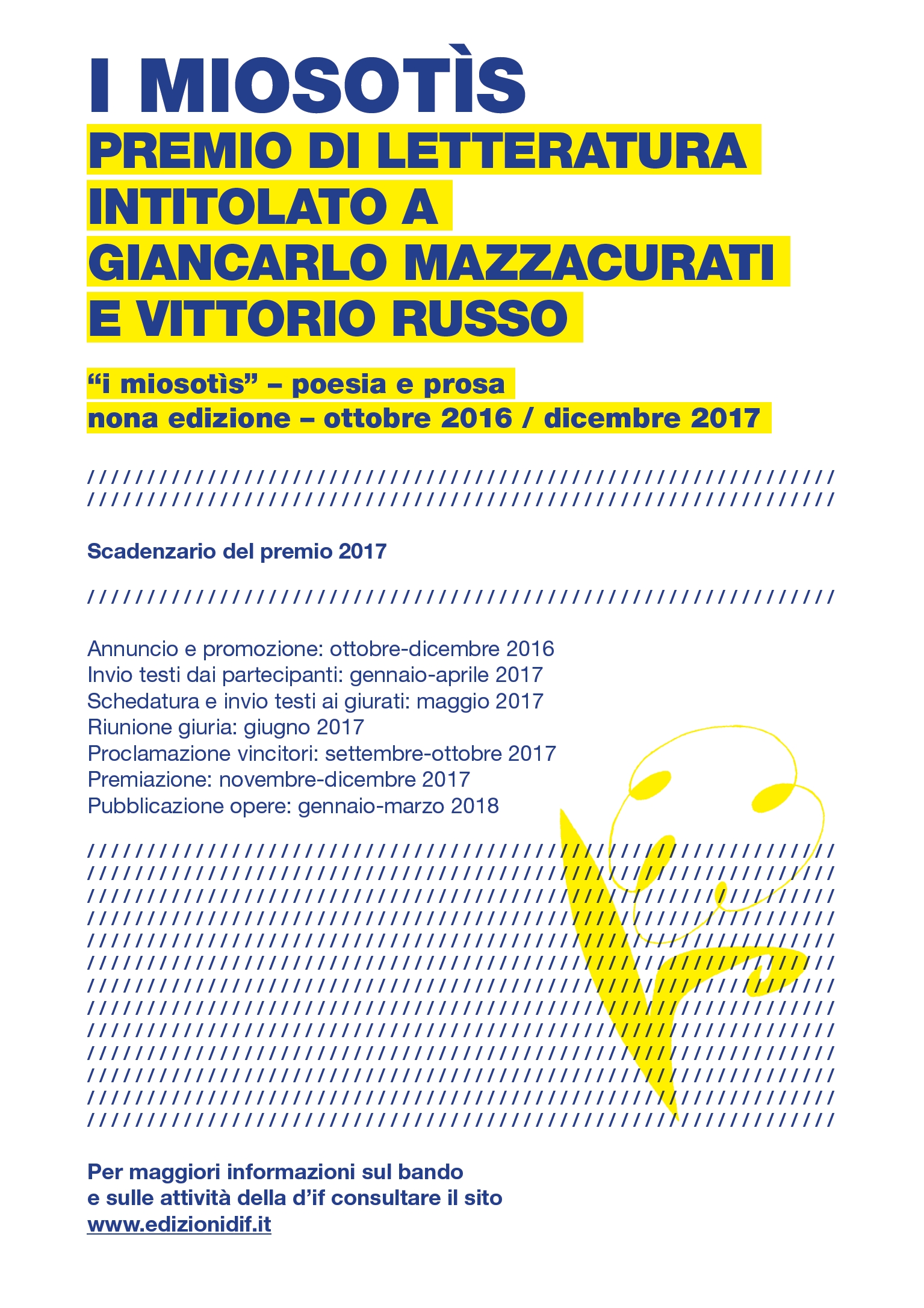 Premio Miosotìs 2017