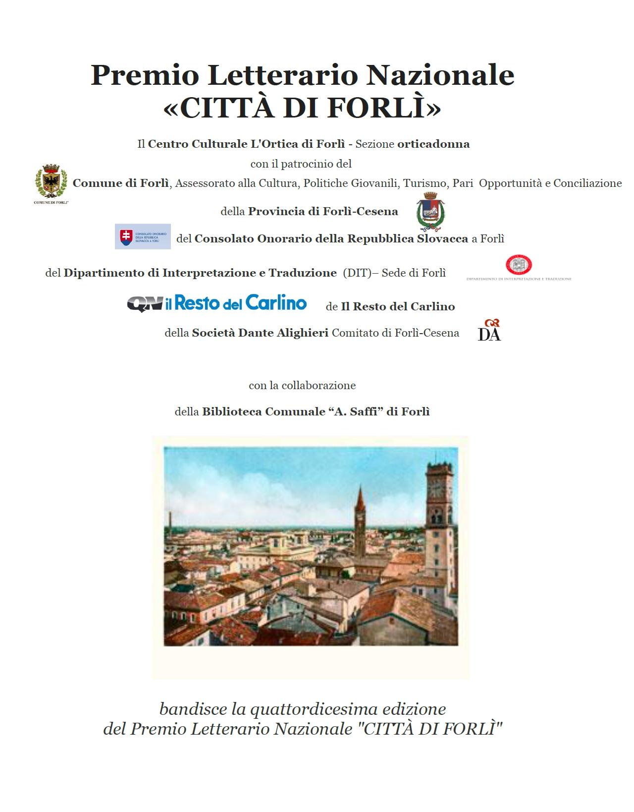 Premio CITTÀ DI FORLÌ 2017