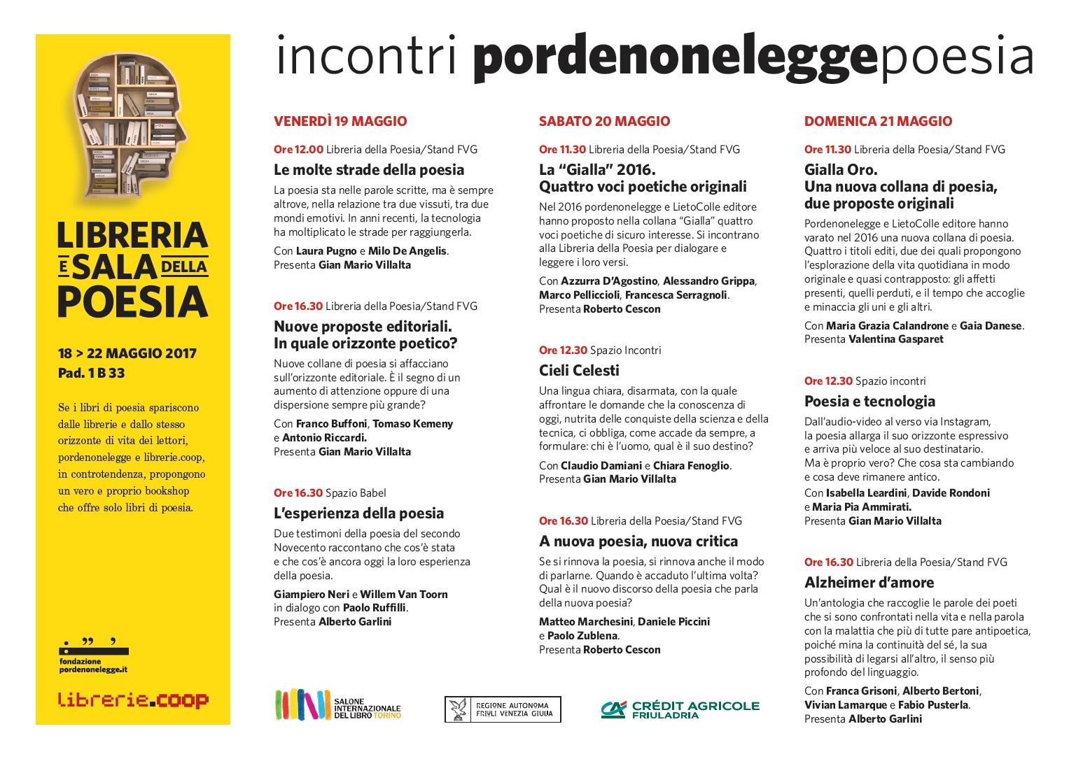 Pordenonelegge al Salone del libro di Torino