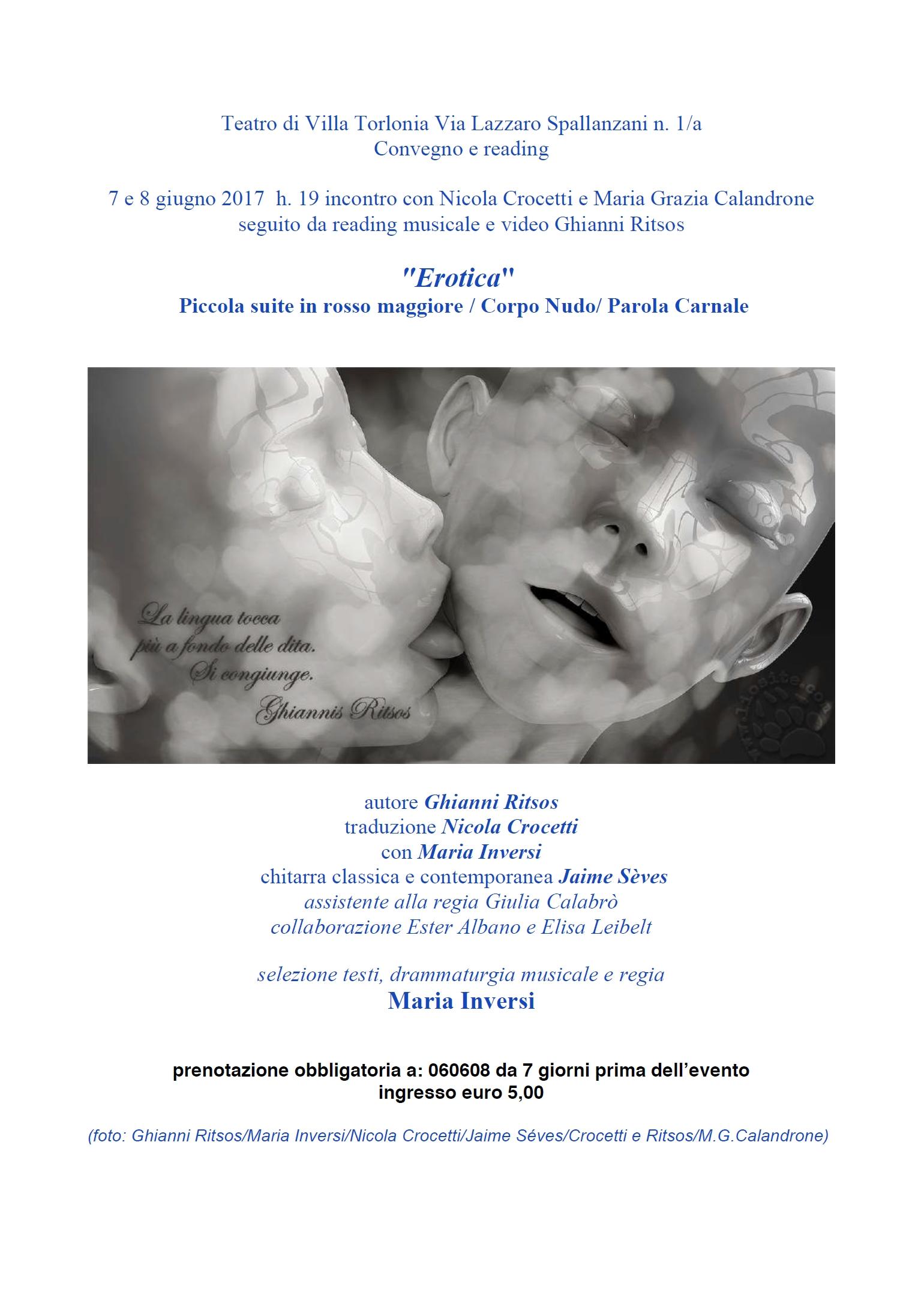 Erotica – 7/8 giugno, Roma