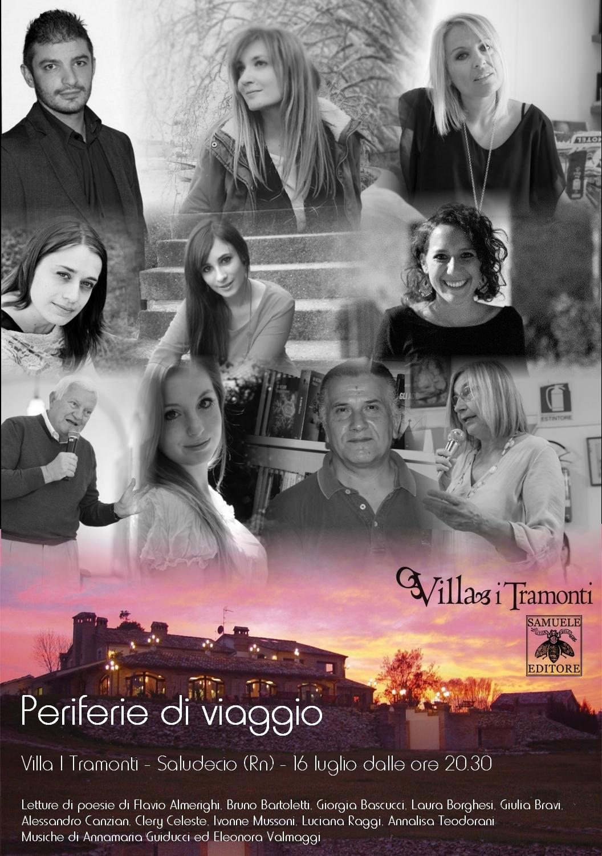 Periferie di viaggio – Villa I Tramonti – Saludecio (Rn), 16 luglio