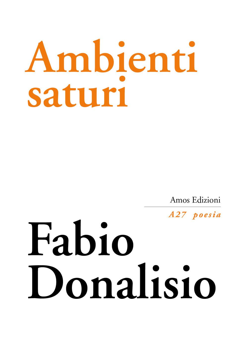 Ambienti saturi – Fabio Donalisio