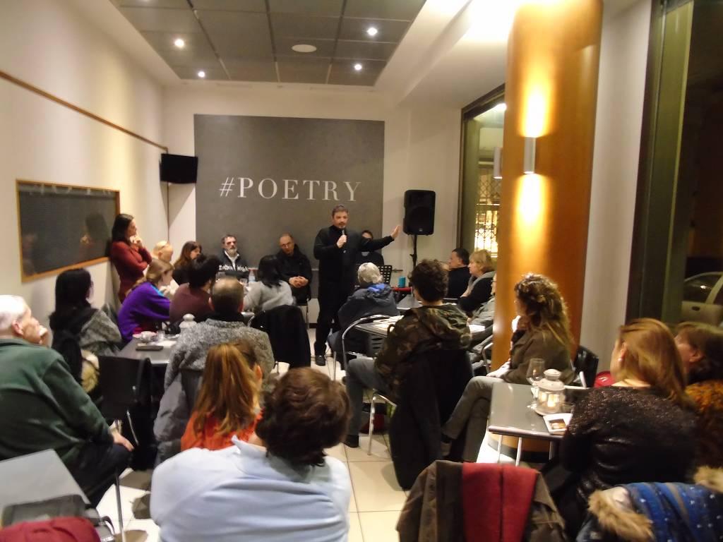 Presentazione dell'Antologia di Laboratori Poesia – foto