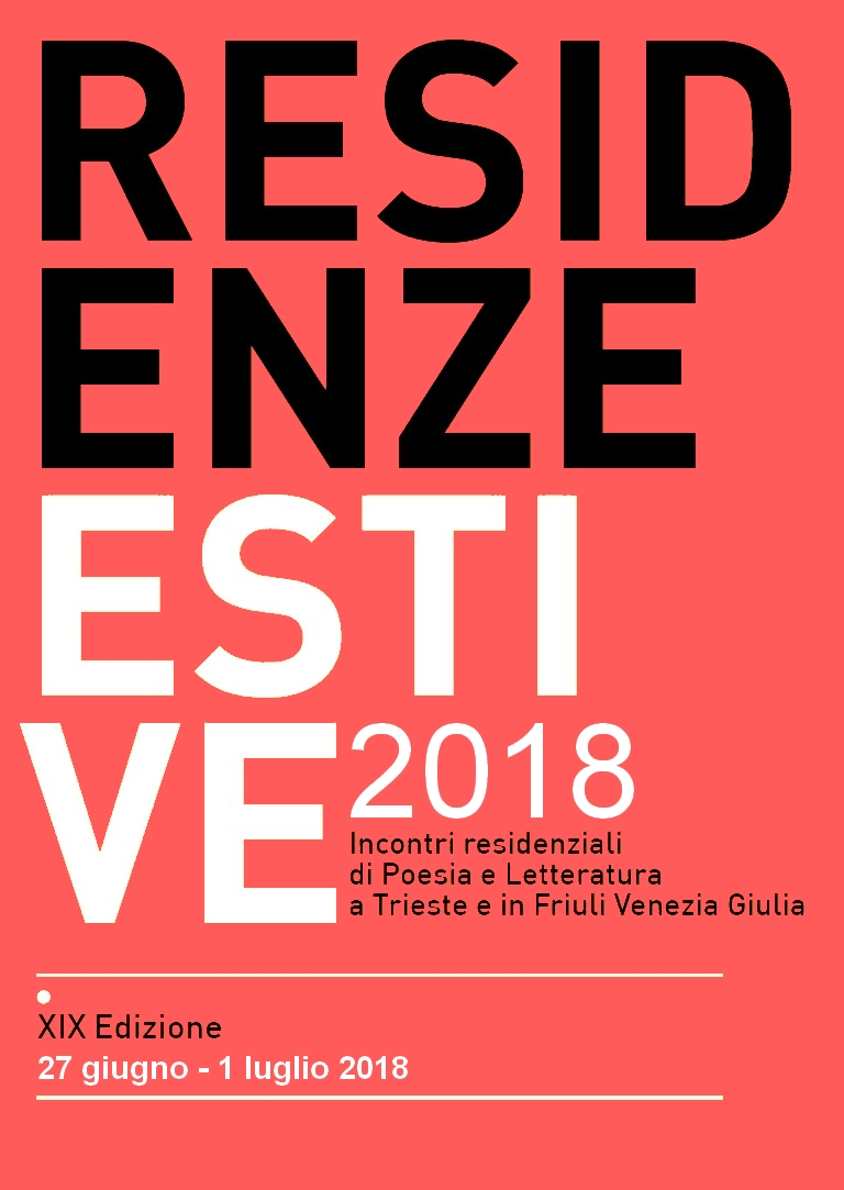 Residenze Estive 2018