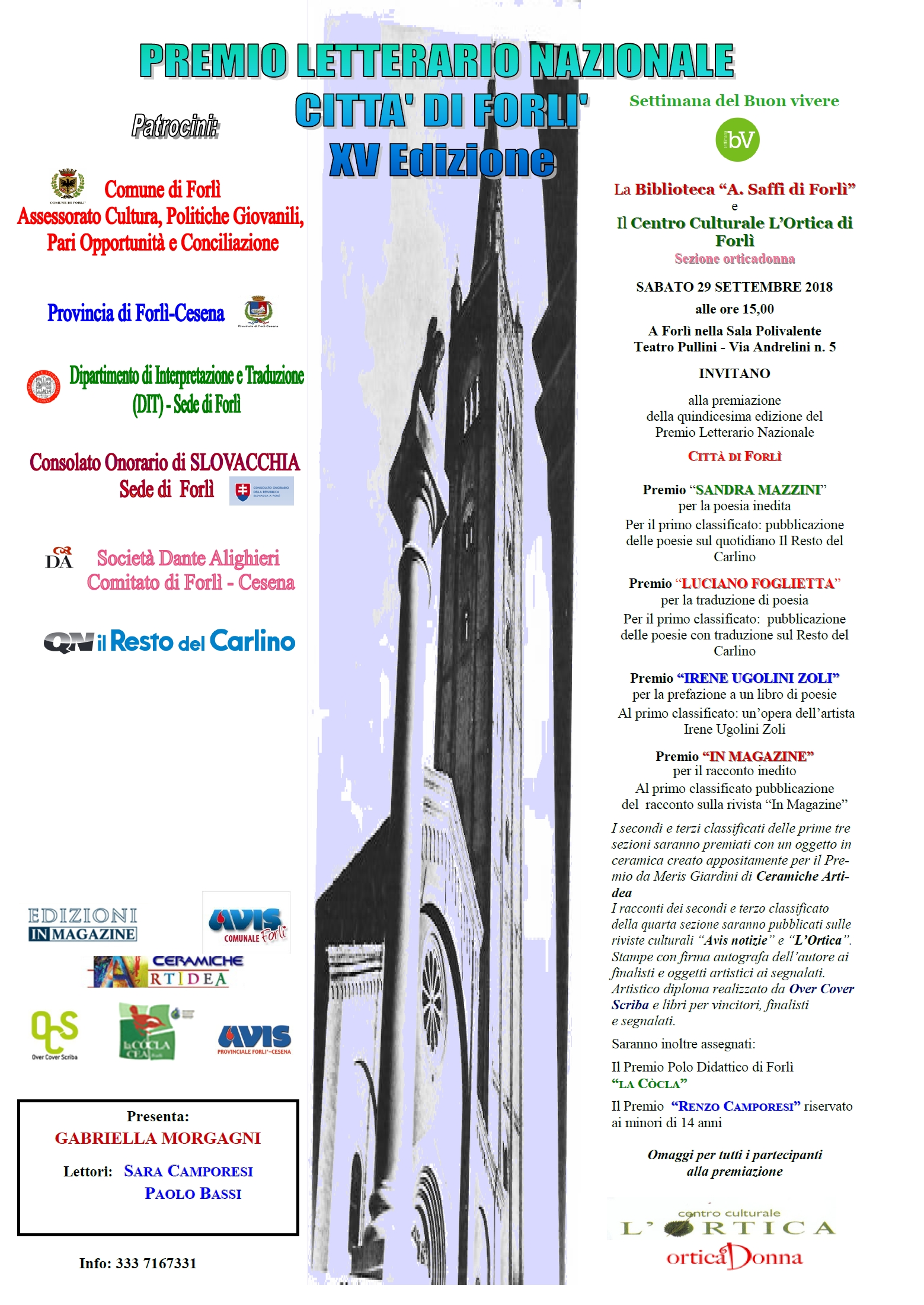 Risultati Premio Città di Forlì