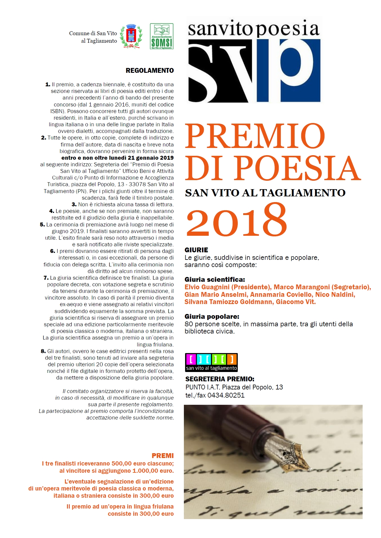 Premio San Vito Poesia