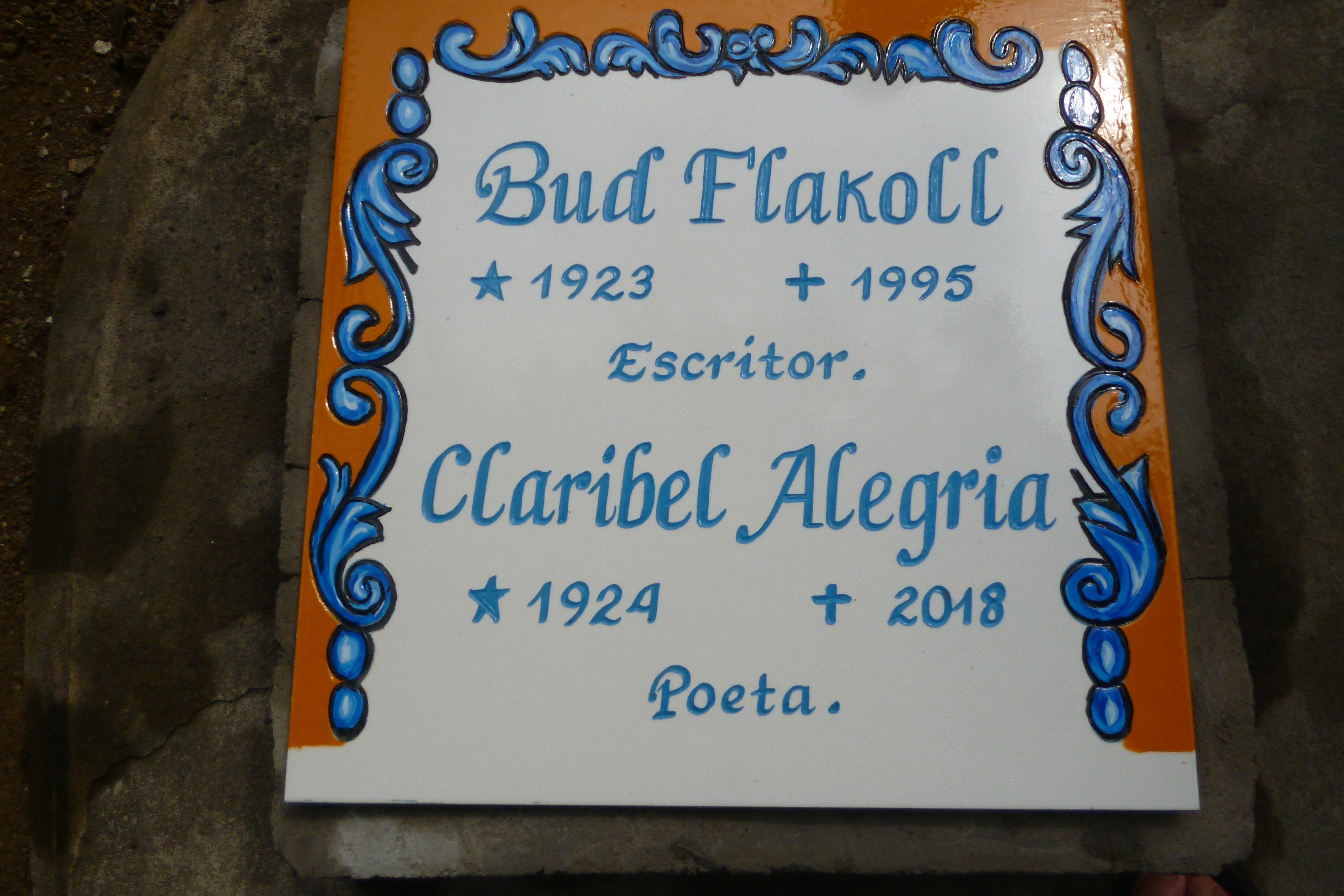 Un profilo di Claribel Alegría  tracciato dai suoi figli 3
