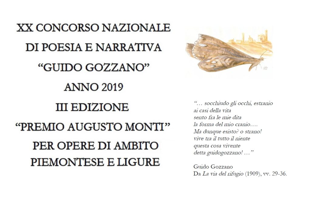 Premio Guido Gozzano 2019