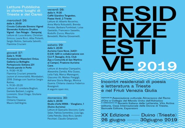 Residenze Estive 2019